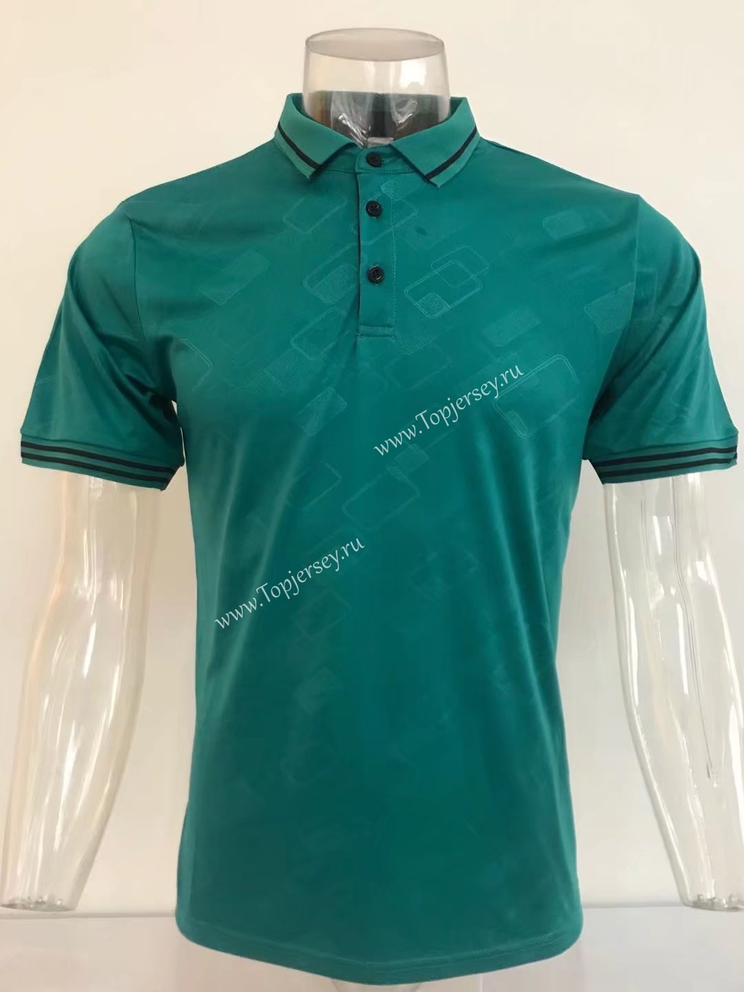 Without Logo Thailand Polo Shirt Dark Green Top 16 Without Logo