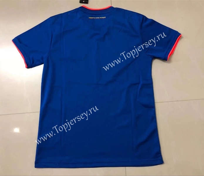 3a44496f347 2018 World Cup Colombia Away Blue Thailand Soccer Jersey AAA ...