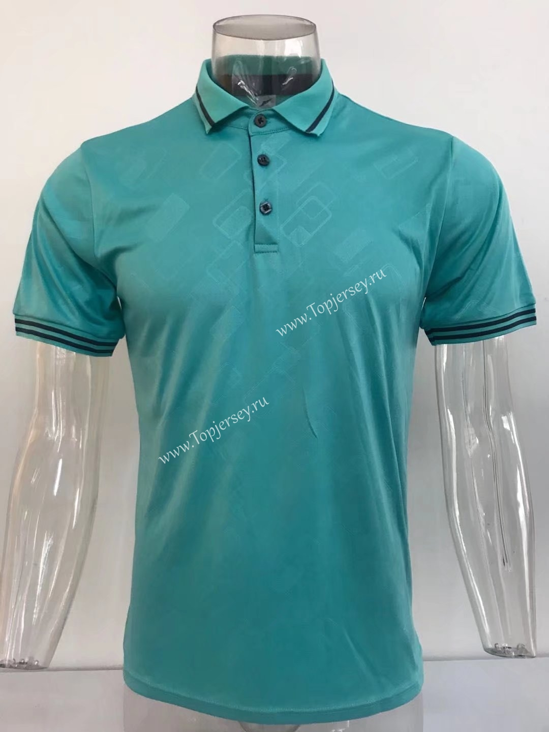 Without Logo Thailand Polo Shirt Light Green Top 15 Without Logo