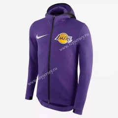 NBA Purple With Hat Tracksuit Top 10