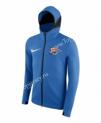 NBA Blue With Hat Tracksuit Top 3