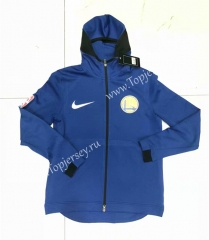 NBA Blue With Hat Tracksuit Top 1
