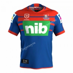 2019-20 Knight Home Blue & Red Thailand Rugby Shirt