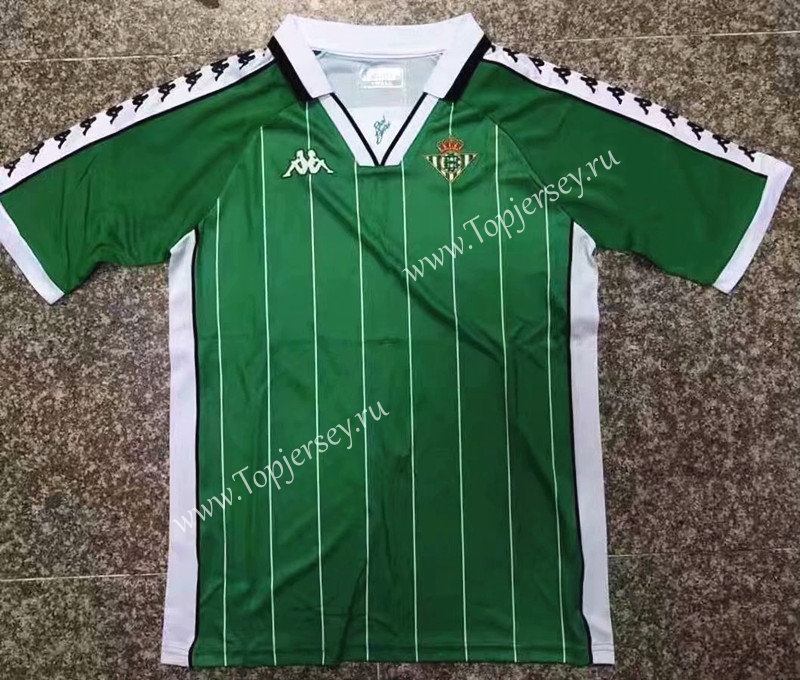 7720d24395c 2018-19 Real Betis Commemorative Edition Green Thailand Soccer ...