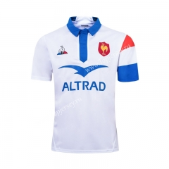 2019-20 France White Thailand Rugby Shirt