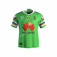 2019-2020 Raiders Away Green Thailand Rugby Jersey