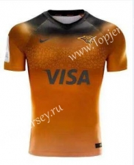 2019-2020 Panthers Orange Thailand Rugby Jersey