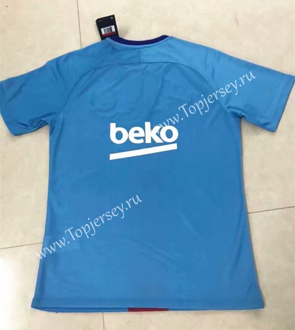 6e71fde39 2019-2020 Barcelona Away Blue Thailand Soccer Jersey AAA-701 ...