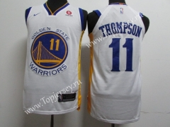 Golden State Warriors White #11 NBA Jersey