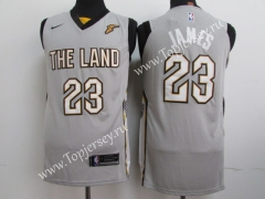 Cleveland Cavaliers Gray #23 NBA Jersey