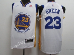 Golden State Warriors White #23 NBA Jersey