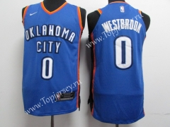 Oklahoma City Thunder Blue #0 NBA Jersey