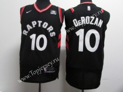 Toronto Raptors Black #10 NBA Jersey