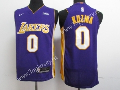 Los Angeles Lakers Purple #0 NBA Jersey