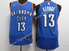Oklahoma City Thunder Blue #13 NBA Jersey