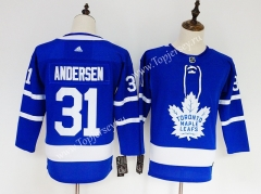 Toronto Maple Leafs Blue #31 NHL Jersey