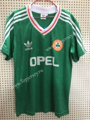 Retro Version Ireland Home Green Thailand Soccer Jersey AAA-811