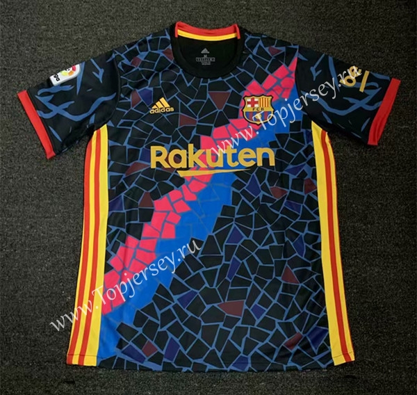 check out d8444 81294 2019-2020 Barcelona Camouflage Black Thailand Soccer Jersey ...