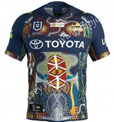 2019-2020 Cowboy Commemorative Edition Camouflage Color Thailand Rugby Shirt