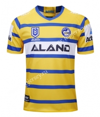 2019-20 Fishes Away Yellow Thailand Rugby Jersey