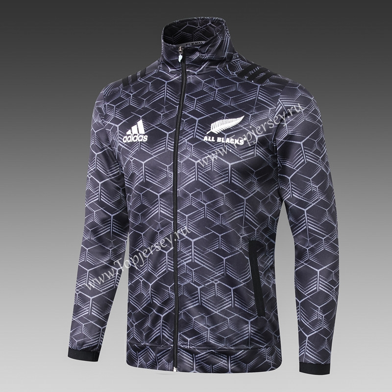 2e16702d4e9 2018-19 All Blacks Camouflage Black Thailand Rugby Jacket-All Blacks ...