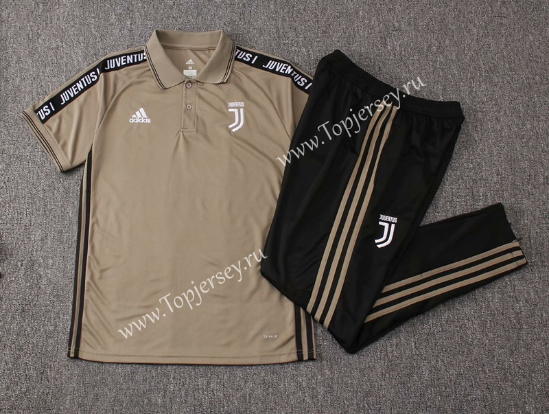 3cd939ea1 2019-2020 Juventus Earth Yellow Thailand Polo Uniform-815-Juventus ...