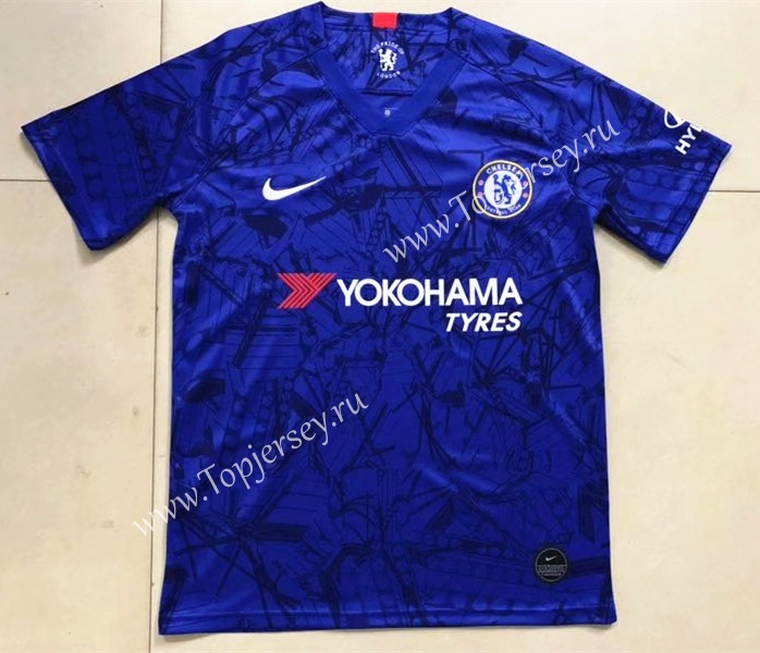 online store 30630 3be61 2019-2020 Chelsea Home Blue Thailand Soccer Jersey AAA,Chelsea