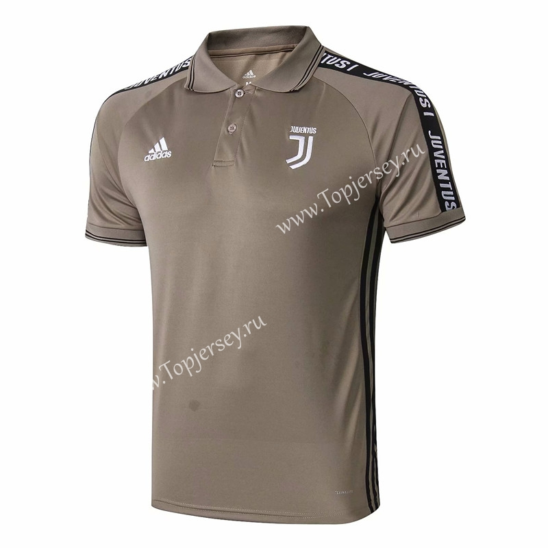 8088bc2f1 2019-2020 Juventus Earth Yellow Thailand Polo Shirt-815-Juventus ...