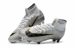 Golden Globe Assassin Silver Mercurial Superfly 360 Elite FG Soccer Boots