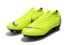 Assassin Fluorescent Yellow Mercurial Vapor Fury VII Elite SG-Pro AC Football Boots