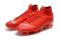 Assassin Red Mercurial Superfly VI 360 Elite FG Football Boots