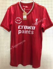 Retro Version 85-86 Liverpool Home Red Thailand Soccer Jersey AAA-811