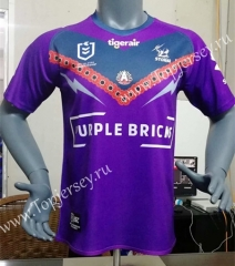 2019-2020 Melbourne Purple Thailand Rugby Shirt