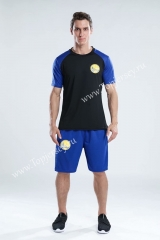 Golden State Warriors Black & Blue NBA Training Unifrom-CS