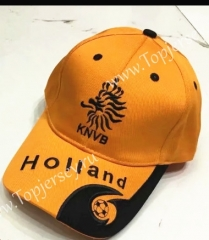 Netherlands Orange Soccer Cap