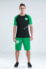 Boston Celtics Black & Green NBA Training Uniform-CS