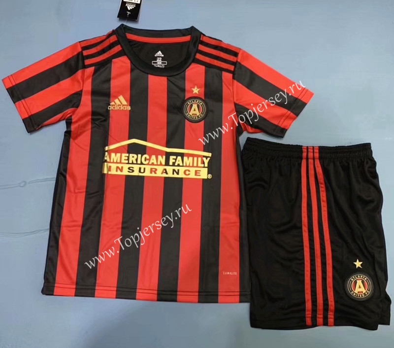 premium selection 8b8ca da17b 2019-2020 Atlanta United FC Home Red & Black Kids/Youth ...