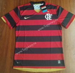 Retro Version Flamengo Home Red and Black Stripes Thailand Soccer Jersey AAA-912