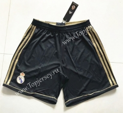Retro Version 2011-2012 Real Madrid Black Thailand Soccer Shorts-SL