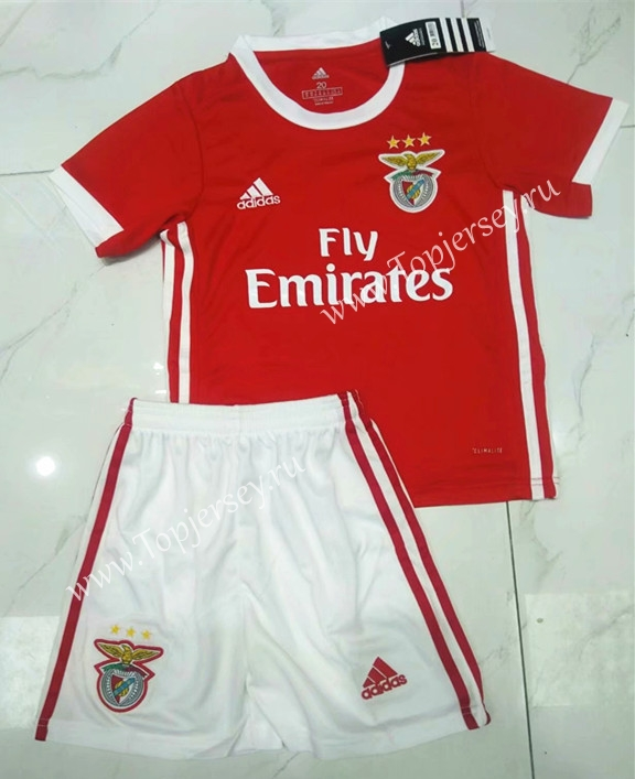 6a173ffc110 2019-2020 Benfica Home Red Kids/Youth Soccer Uniform-Benfica| topjersey