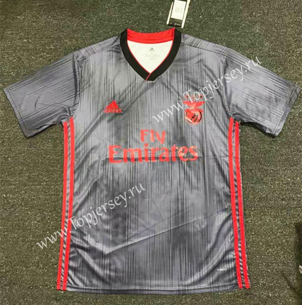new concept f45d8 ddc09 2019-2020 Benfica Away Gray Thailand Soccer Jersey AAA-407 ...