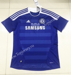 Retro Version 2011-2012 Chelsea Home Blue Thailand Soccer Jersey AAA-510