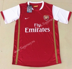 Retro Version 2006 Arsenal Home Red Thailand Soccer Jersey AAA-AY