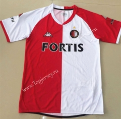 Retro Version 2008 Feyenoord Rotterdam Home Red and White Thailand Soccer Jersey AAA-AY