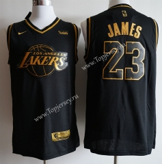 Los Angeles Lakers Black&Gold #23 NBA Jersey