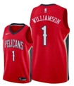 New Orleans Pelicans Red #1 NBA Jersey