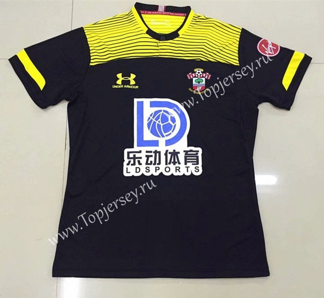 new product 9f67b d1355 2019-2020 Southampton Away Black Thailand Soccer Jersey AAA ...
