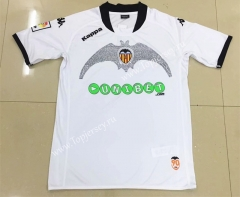 Retro Version 2009 Valencia Home White Thailand Soccer Jersey AAA-AY