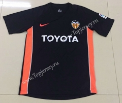 Retro Version 2006 Valencia Away Black Thailand Soccer Jersey AAA-AY
