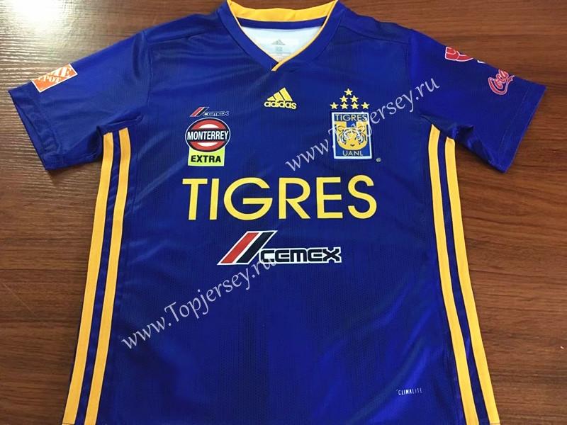 release date aa5db 1e16b 2019-2020 Tigres UANL Away Blue Kids/Youth Soccer Uniform-AY ...